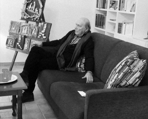 """PRESENTAZIONE DEL LIBRO DI POESIE """"MANE"""" DI ROLANDO D'ALONZO - 12 DICEMBRE 2018"""